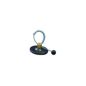 BOTTLE TAG ROUND BLACK RF 8,2 Mhz (NL)